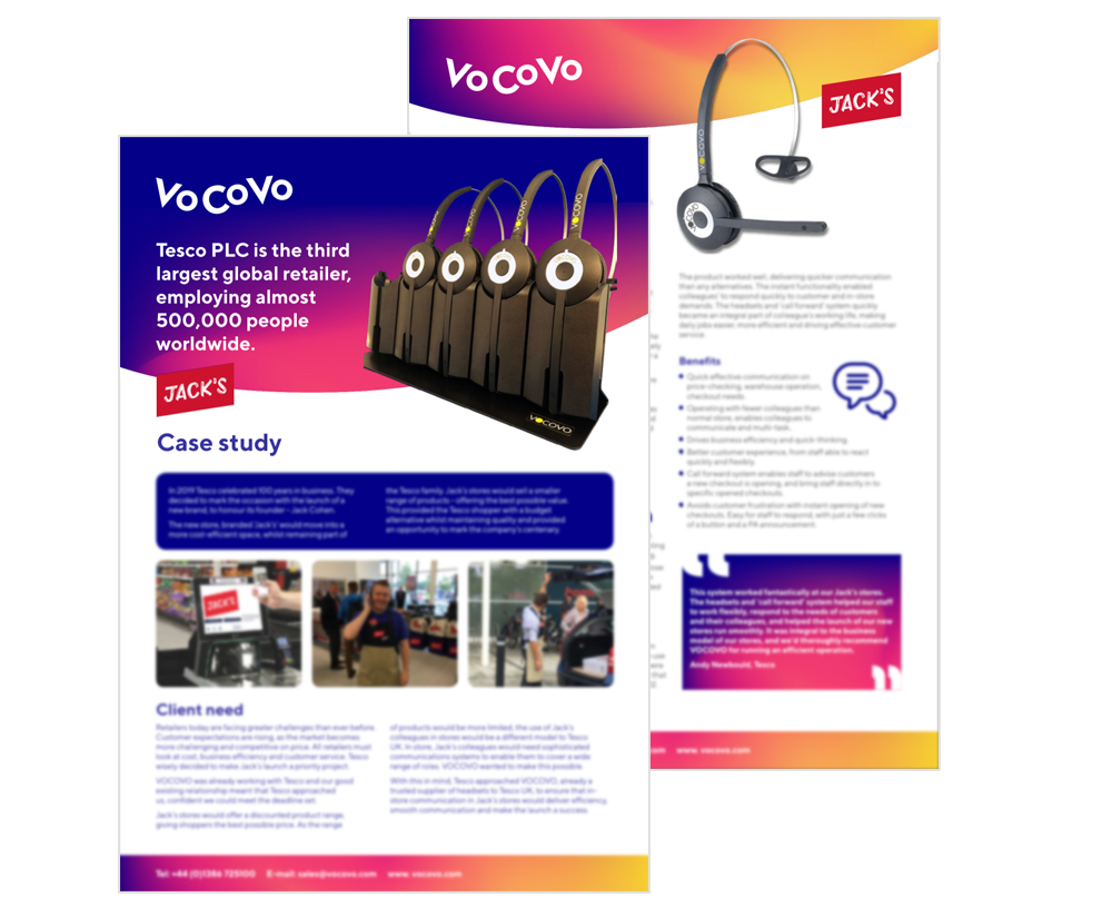 Case Study | Jacks by Tesco